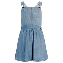 Buy John Lewis Girl Pinafore Dress, Denim Online at johnlewis.com