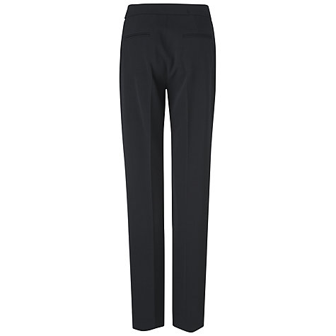 Buy Jaeger Classic Trousers, Black Online at johnlewis.com