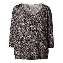 Buy Gérard Darel Leopard Print Jumper, Grey Online at johnlewis.com