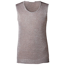 Buy Gérard Darel Sparkle Tank Top, Metallic Online at johnlewis.com