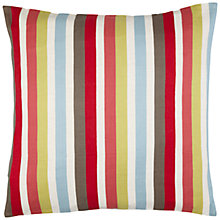 Buy Harlequin Babushka Stripe Floor Cushion, Red/Green Online at johnlewis.com