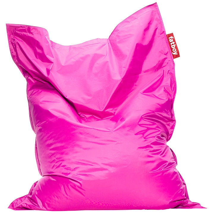 Buy Fatboy Bean Bag, Pink Online at johnlewis.com