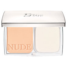 Buy Dior Diorskin Nude Natural Glow Radiant Powder Foundation SPF 10 - Refill Online at johnlewis.com