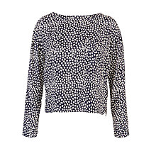 Buy Collection WEEKEND by John Lewis Flower Print Top, Navy Online at johnlewis.com
