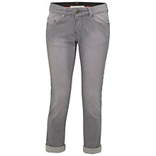 Buy White Stuff Boss Stripe Jeans, Chintz Grey Online at johnlewis.com