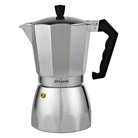 Buy John Lewis Aluminium Espresso Maker Online at johnlewis.com