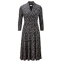Buy Viyella Eclipse Dress, Navy/Multi Online at johnlewis.com