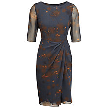 Buy Ella by Viyella Dandelion Dress, Petrol Online at johnlewis.com