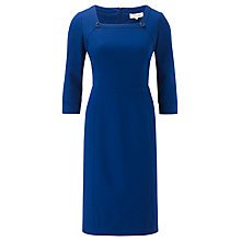 Buy Viyella Square Neck Dress, Cobalt Online at johnlewis.com