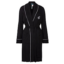 Buy Ralph Lauren Short Robe, Black Online at johnlewis.com