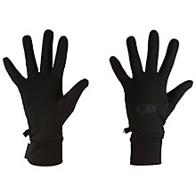 Buy Icebreaker Realfleece Gloves, Black Online at johnlewis.com