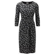 Buy CC Petite Textured Spot Jersey Dress, Black Online at johnlewis.com