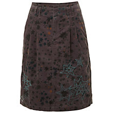 Buy White Stuff Sunshine Cord Skirt, Deep Marine Online at johnlewis.com