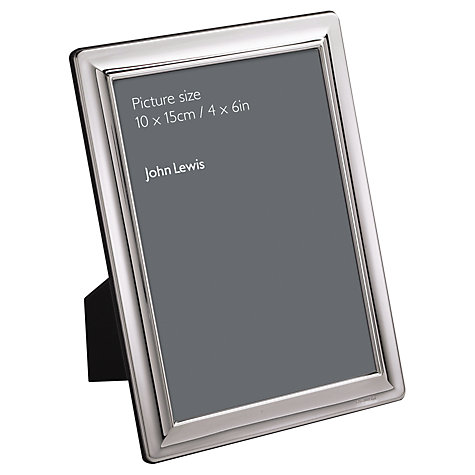 Buy John Lewis Outline Silver Plated Photo Frame Online at johnlewis.com