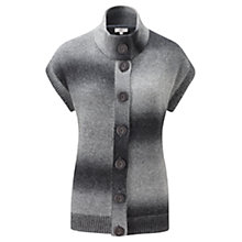 Buy CC Main Space Dye Chunky Cardigan, Grey Online at johnlewis.com