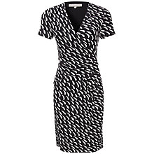 Buy Fenn Wright Manson Petite Diane Dress, Black/Cream Online at johnlewis.com