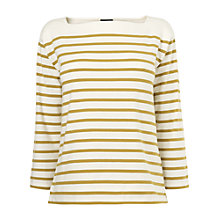 Buy Jaeger Breton Stripe Top, Multi Online at johnlewis.com