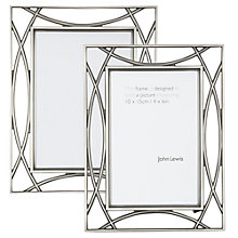 Buy John Lewis Pewter Tone Photo Frame Online at johnlewis.com