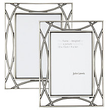 John Lewis Pewter Tone Photo Frame