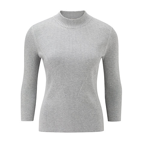 Buy CC Turtleneck Jumper, Silver/Grey Online at johnlewis.com