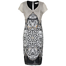 Buy Damsel in a dress Tasmin Dress, Gold Online at johnlewis.com