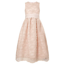Buy John Lewis Girl Lace Dress, Dusty Pink Online at johnlewis.com
