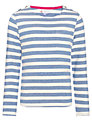 John Lewis Girl Striped Boat Neck Top