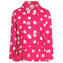 Buy John Lewis Girl Spot Mac, Magenta Online at johnlewis.com