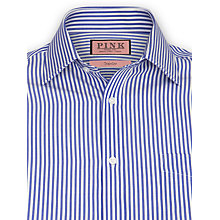 Buy Thomas Pink Brookland Stripe Shirt, Blue Online at johnlewis.com