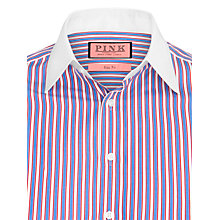Buy Thomas Pink Wakefield Stripe Shirt, Blue/White Online at johnlewis.com