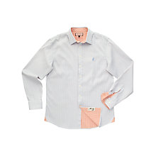 Buy Thomas Pink Mercia Stripe Shirt, Blue/White Online at johnlewis.com