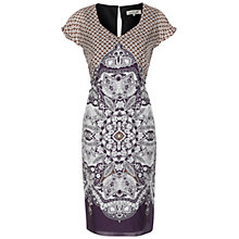 Buy Damsel in a dress Tamsin Dress, Aubergine Online at johnlewis.com