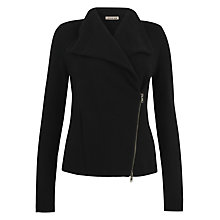 Buy Jigsaw Double Zip Cardigan Online at johnlewis.com
