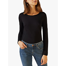 Buy Jigsaw Pima Long Sleeve T-Shirt Online at johnlewis.com