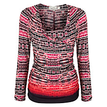 Buy Damsel in a dress Opaque Printed Top, Multi Online at johnlewis.com