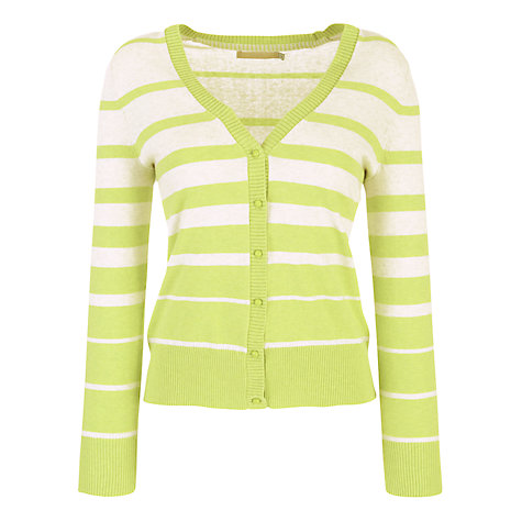 Buy John Lewis Graduated Stripe V-Neck Cardigan Online at johnlewis.com