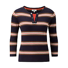 Buy CC Petite Striped Jumper, Navy Online at johnlewis.com
