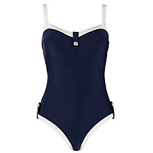 Buy Ted Baker Ailita Nautical Swimsuit, Navy Online at johnlewis.com