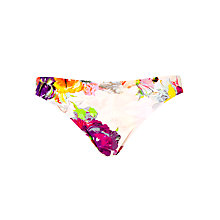 Buy Ted Baker Maaye Floral Print Bikini Briefs, Multi Online at johnlewis.com