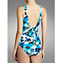 Buy John Lewis Twist Front Floral Swimsuit, Multi Online at johnlewis.com