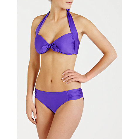 Buy Seafolly Shimmer Ruched Side Retro Bikini Briefs Online at johnlewis.com