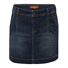 Buy White Stuff Heritage Carpenter Skirt, Denim Blue Online at johnlewis.com