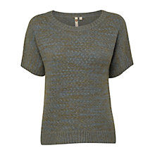 Buy White Stuff Rococo Knitted Jumper, Grey Online at johnlewis.com
