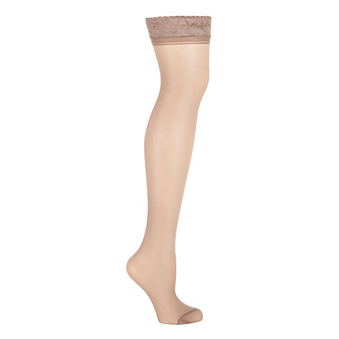 Buy John Lewis 15 Denier Hold-Ups, Pack of 2 Online at johnlewis.com
