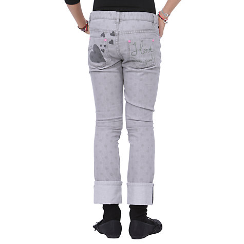 Buy Desigual Nudillo Jeans, Grey Online at johnlewis.com