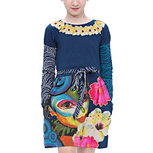 Buy Desigual Amaril Dress, Blue Online at johnlewis.com