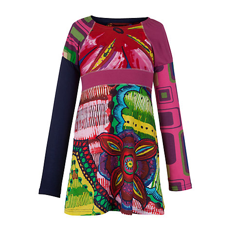 Buy Desigual Conil Dress, Multi Online at johnlewis.com