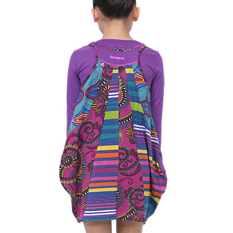 Buy Desigual Pinki Dress, Pink Online at johnlewis.com