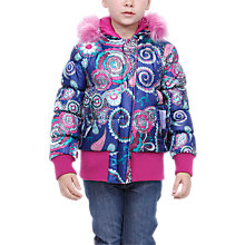 Buy Desigual Rosa Coat, Multi Online at johnlewis.com