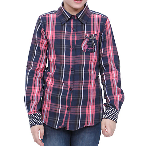 Buy Desigual Pato Shirt, Red Online at johnlewis.com